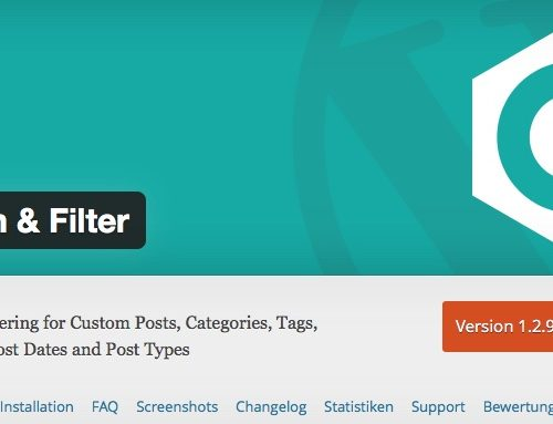 Filtern von Posts in WordPress